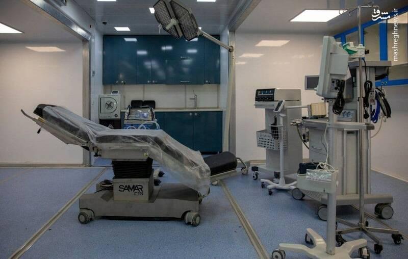 راهاندازی اولین بیمارستان سیار ایران با وسعت ۳ هزار متر مربع +عکس