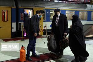 عکس/ مسافران ایستگاه راه آهن تهران در ایام کرونا