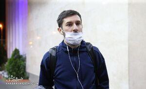 عکس/ میلیچ در راه بازگشت به ایران