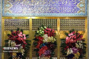 عکس/ جشن عید مبعث در حرم مطهر رضوی