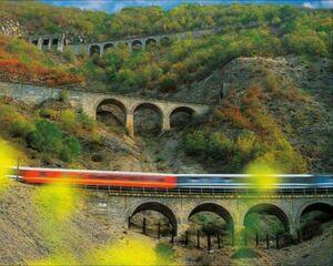 عکس/ سه خط طلای راه آهن شمال ایران
