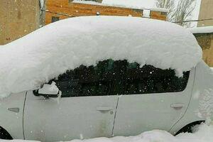 عکس/ ارتفاع ۵۰ سانتیمتری برف در «دربندسر»