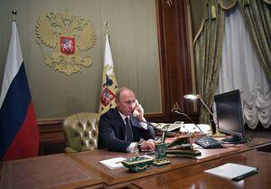 رایزنی تلفنی پوتین با علیاف و پاشینیان درباره اوضاع قرهباغ