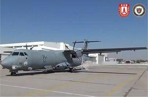 تحویل هواپیمای گشت دریایی به ترکیه+عکس