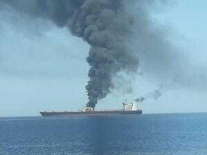 فیلم/ آتش سوزی در کشتی گردشگری