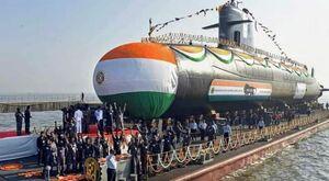 ارتش هند زیردریایی جدید تحویل گرفت+عکس