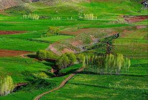 عکس/ طبیعت سرسبز خوی در آذربایجان غربی