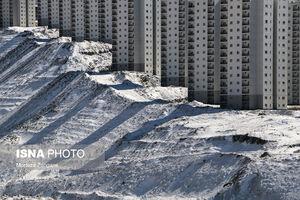 عکس/ حال و هوای برفی «فاز ۱۱ پردیس»
