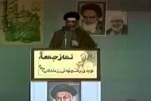 واکنش مردم در نماز جمعه تهران به واقعه طبس