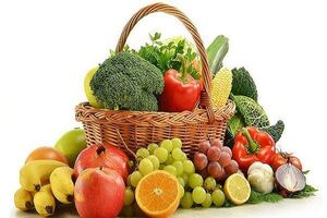 افزایش طول عمر با مصرف میوه و سبزیجات