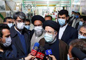 فیلم/ بازدید حجتالاسلام رئیسی از کارخانه نساجی قائمشهر