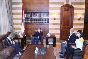 رایزنی مامور تشکیل کابینه لبنان با سفیر فرانسه