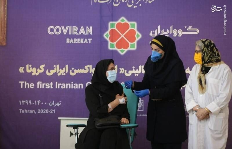 زوجی که داوطلبان تست فاز دو و سه واکسن ایرانی کرونا شدند +عکس