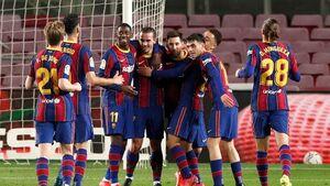 رقابت قهرمانی در لالیگا داغ شد؛ برتری بارسلونا با گلهای تماشایی