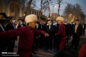 مراسم «نوروز ۱۴۰۰، نوروز دوستی» با حضور ظریف