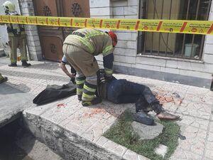 عکس/ نخستین حادثه روز چهارشنبه سوری در تهران