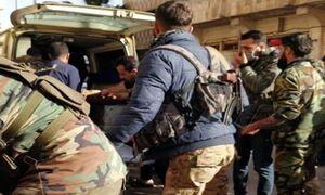 کشته و زخمی شدن شماری از نیروهای ارتش سوریه در حمله تروریستی