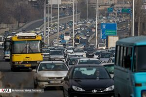 عکس/ ترافیک سنگین آخر سال