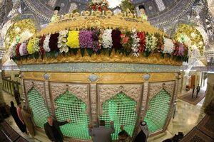 عکس/ سامرا در روز ولادت امام حسین(ع)