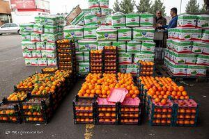 بازار مرکزی میوه در آستانه سال نو