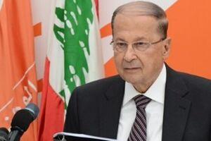 دعوت میشل عون از سعد حریری به کاخ ریاستجمهوری لبنان - کراپشده
