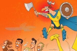 کاریکاتور/ فرار کنید زلاتان اومد!