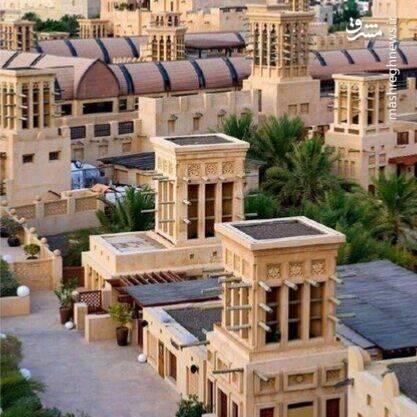 استفاده از بادگیرهای ایرانی در بازار امارات +عکس