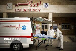 عکس/ جابهجایی بیماران اورژانسی در پیک کرونای خوزستان