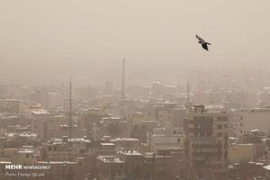 عکس/ بام ایران در دام گرد و غبار