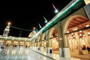 حال و هوای مسجد کوفه در اعیاد شعبانیه