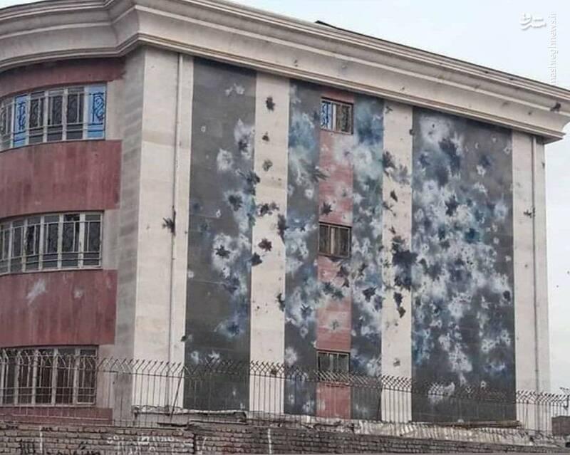 حمله داعشوار به یک دبیرستان در چهارشنبهسوری +عکس