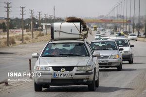 عکس/ آغاز سفرهای نوروزی در محور تهران - مشهد