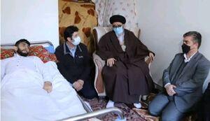 ابلاغ سلام رهبر انقلاب به جانبازان تبریز +عکس