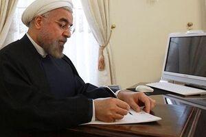 روحانی درگذشت همسر حجتالاسلام ری شهری را تسلیت گفت