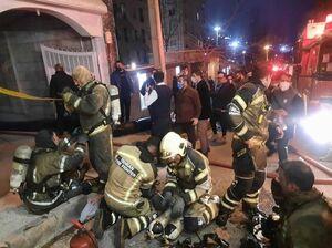 فیلم/ آتشسوزی در پاساژ کادوس آبادان