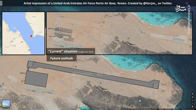 هدف امارات از توسعه جزایر حاشیه تنگه باب المندب چیست؟ / رژیم صهیونیستی به دنبال جاسوسی از ناوگان دریایی ایران با استقرار در جزیره Perim +تصاویر