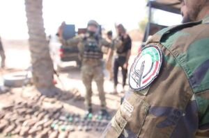کشف سلاحهای مدفون داعش در عراق