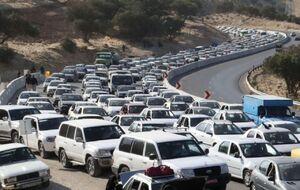فیلم/ ترافیک دوستداران ۱۳ بدر کرونایی!
