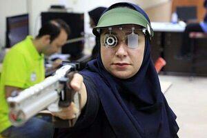 ساره جوانمردی در جامجهانی تیراندازی طلا گرفت