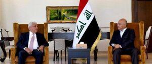 دیدار رییس الحشدالشعبی با رییس جمهور عراق