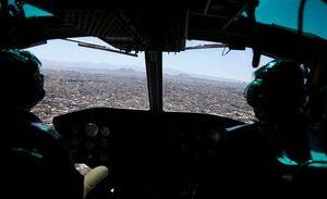 تصاویر هوایی از قم در روز اول عید