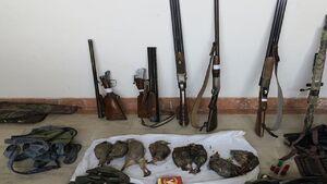 ۲۵۲ شکارچی متخلف در سال ۹۹ دستگیر شدند/ کشف ۱۲۷۱ مورد شکار و صید غیرمجاز در استان تهران