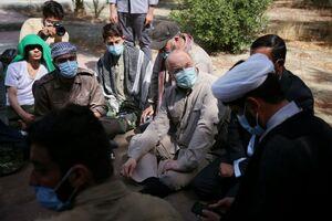 گفتگو صمیمی رئیس مجلس با فعالان گروههای جهادی +عکس
