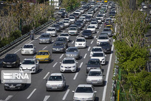 ترافیک سنگین در چهار محور تهران-شمال