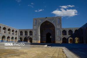 عکس/ مسجدی که شاه عباس اول ساخت