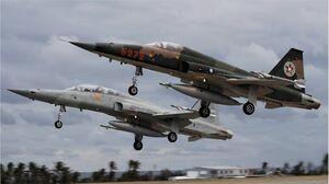 حادثه برای دو جنگنده نیروی هوایی تایوان