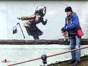 عکس/ دیوار نگارههای مشهور جهان
