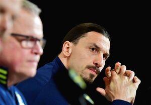 اشکهای زلاتان در اولین نشست خبریاش پس از بازگشت به تیم ملی سوئد +عکس