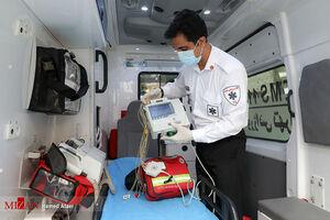 در ۹۷ ثانیه با تجهیزات داخل یک آمبولانس آشنا شوید +فیلم