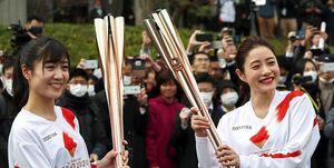 زنان قهرمان ژاپنی فردا مشعل المپیک را روشن میکنند
